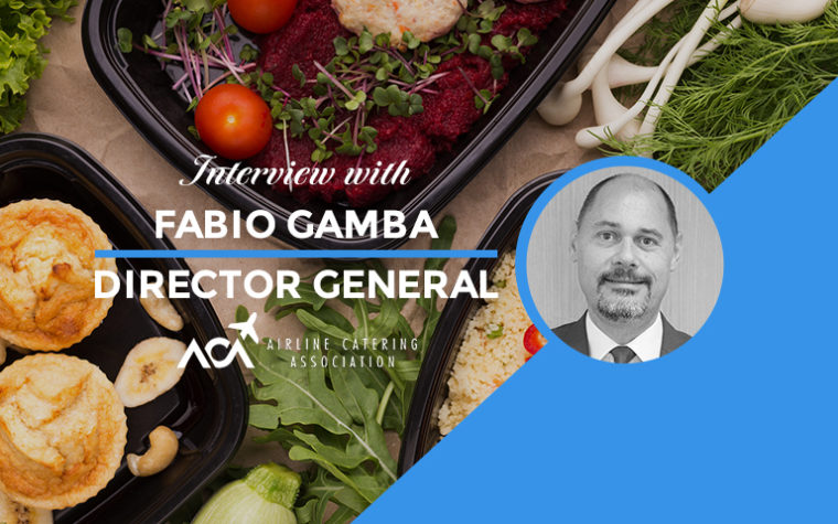 Interview with Fabio Gamba of Airline Catering Association
