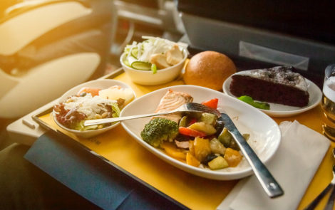 The future of food and beverage on airlines in 2021