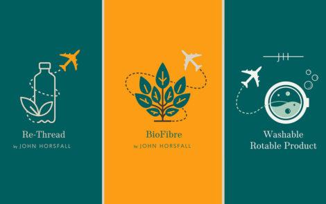 Recycled, Regenerated & Plant-based Fibres & Fabrics by John Horsfall & Sons